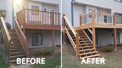 Home Deck Remodel Services In Wichita Ks Custom Deck