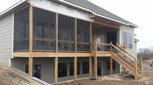 screened in deck. Check Out Our Projects Page To See Some Of Latest Screened Deck Builds. In