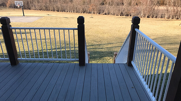 Composite Deck Aluminum Handrail and Balusters