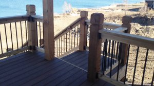 Composite Deck Stairs Landing