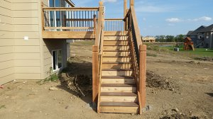 Composite Deck Stairs